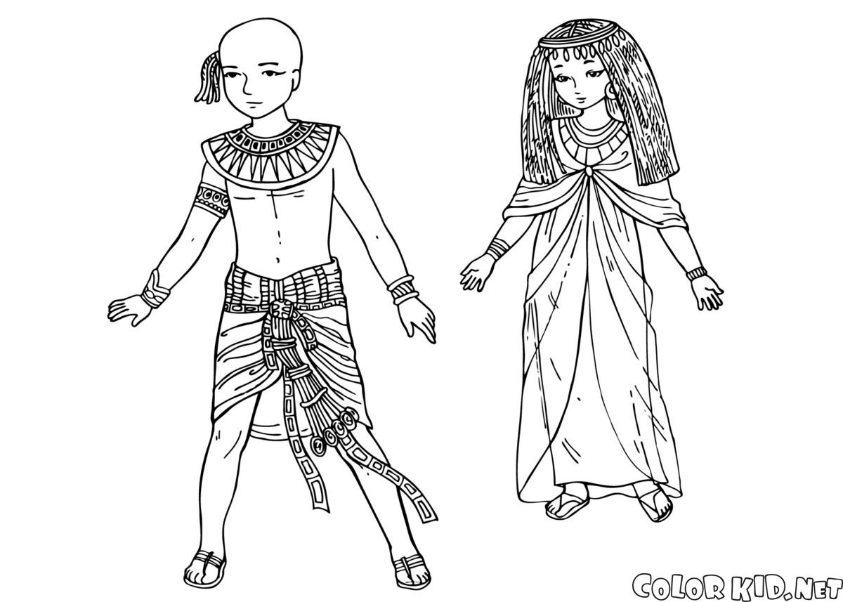 Ancient Egypt Colouring Pages | 857x1200
