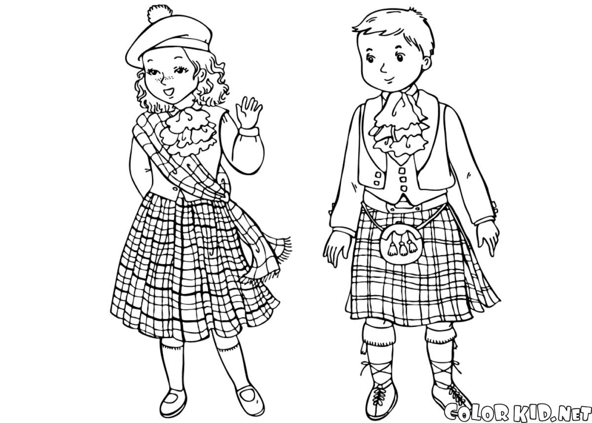 traditional african clothing coloring pages coloring page