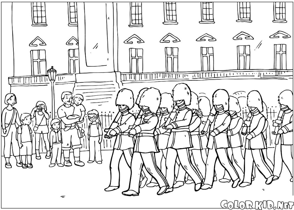 coloring page tower of london