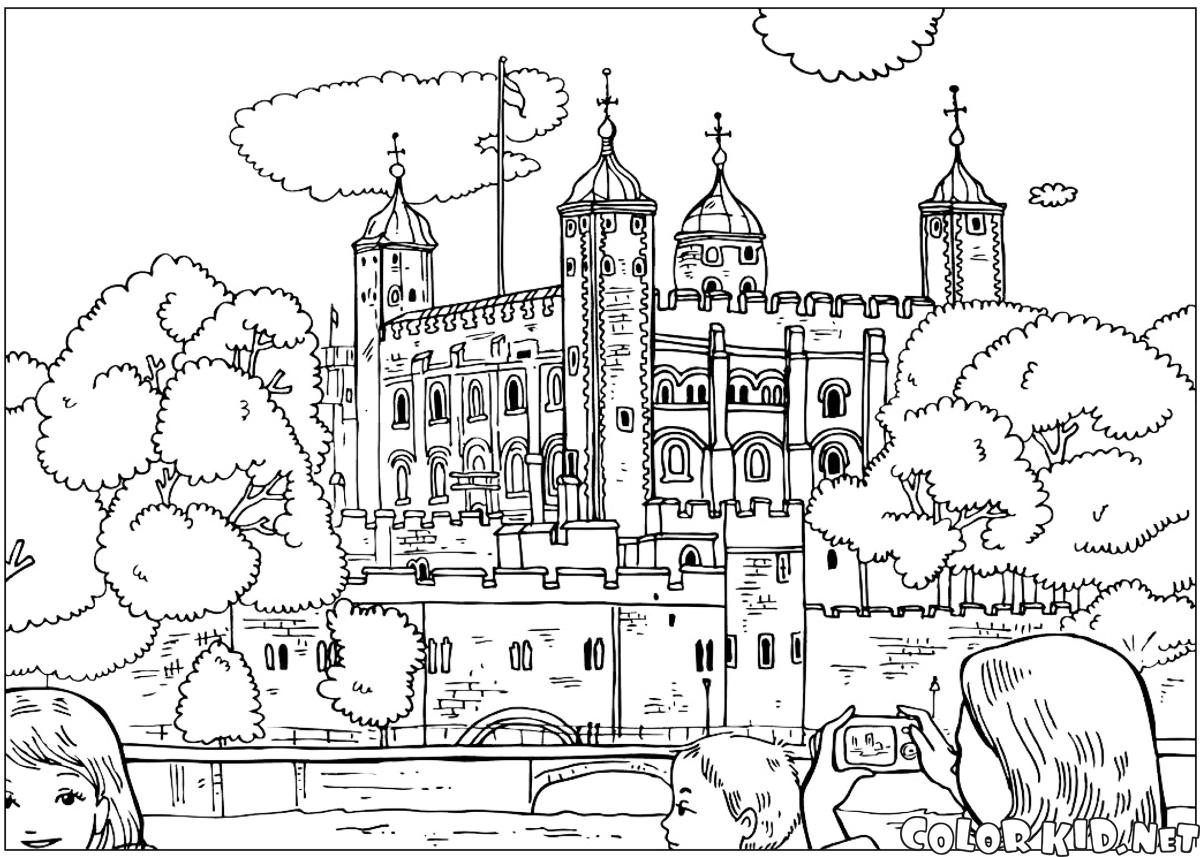 Coloring Page The United Kingdom