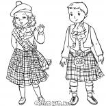 Scottish children